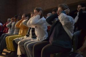Mars 2012 -11èmes Journées Voix : Résonances - A l'écoute des harmoniques avec Daïnouri Choque