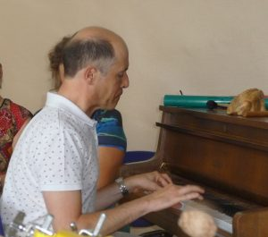 Didier au piano