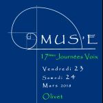 Les 17èmes Journées Voix Vendredi 23 et Samedi 24 MARS fêtent le printemps au bord du Loiret!