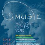 Découvrez les Matinées Muses à Dauphine Vendredi 21 et 28 septembre 2018