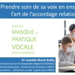 Masque et voix : l'accordage relationnel