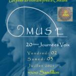 MUS'E chante ses 30 ANS en Couleurs de Voix les 2 et 3 Juillet 2021 !